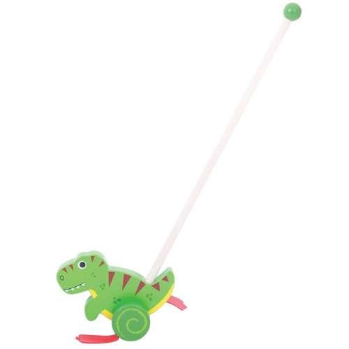 Bigjigs állatos tologató - T-Rex