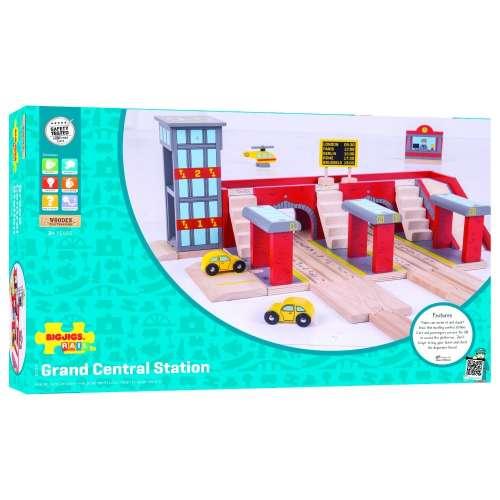 Bigjigs központi pályaudvar - új design