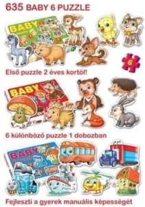 Dorex Baby Puzzle  30204594 Puzzle gyereknek