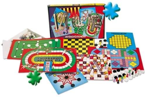 Dorex Családi játékgyűjtemény 127 féle
