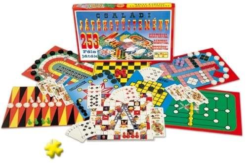 Dorex Családi játékgyűjtemény 253 féle