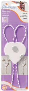 Dreambaby flexibilis Szekrényzár #fehér 30204620 Biztonság a lakásban