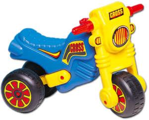 Dorex lábbal hajtós Crossmotor #kék-sárga 30204660