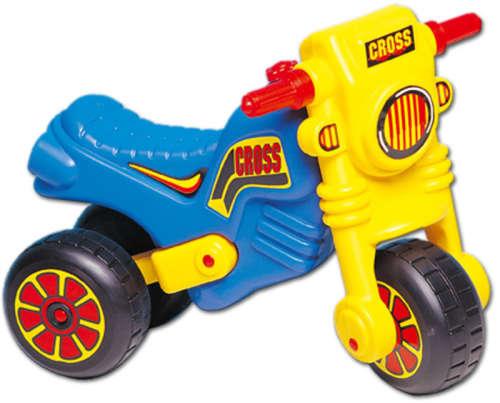 Dorex Lábbal hajtós crossmotor (kék-sárga)