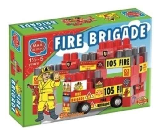 Dorex Maxi block tűzoltóság építőjáték