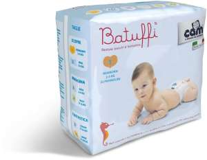 Cam Batuffi Newborn 1 Pelenka 2-5kg (22db) 30204770 -25kg Pelenka