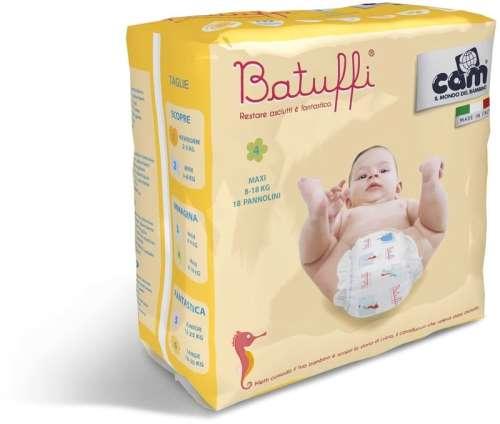 Cam Batuffi 4 MAXI pelenka (18db-os) (8-18 kg)