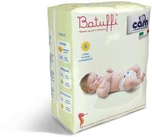 Cam Batuffi 6 LARGE pelenka (14db) (16-30 kg)