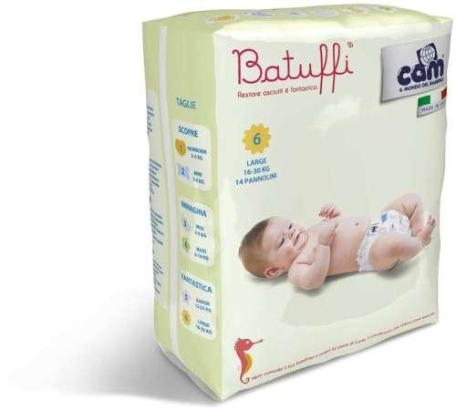 Cam Batuffi 6 LARGE Pelenka 14db 16-30kg