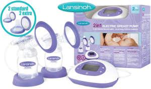 Lansinoh 2in1 elektromos dupla Mellszívó 30496110 Lansinoh