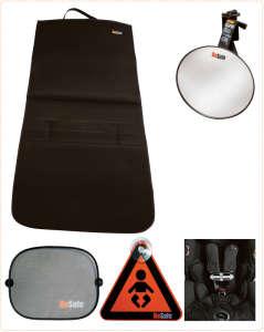 BeSafe Biztonsági szett #fekete-szürke 30204827 Kiegészítők utazáshoz