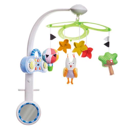 Taf Toys Zenélő-Forgó MP3 Stereo #bagoly