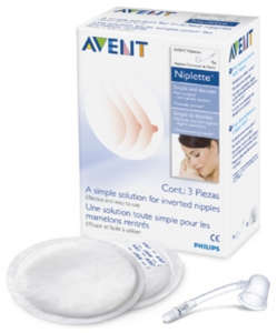 Avent NIPLETTE csomag 30205015 Mellbimbókiemelő és védő
