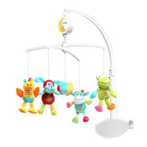 BabyOno plüss zenélő-forgó Rainbow Animals