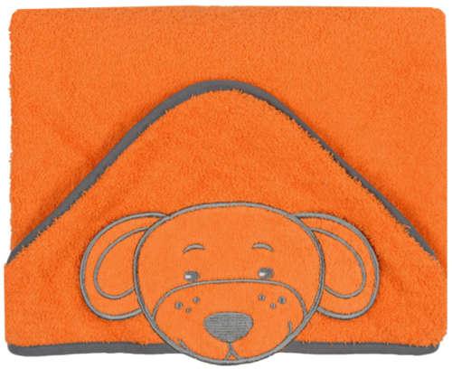 BabyOno Fürdőlepedő 76x76cm #narancssárga