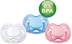 Avent légáteresztő Játszócumi 0-6hó 2db-os BPA-mentes  30205062