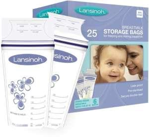 Lansinoh anyatej Tároló Zacskó 25db 30205369 Tejgyűjtő kagyló, tejtároló
