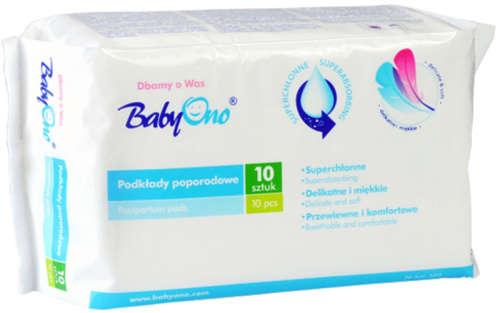 BabyOno szülés utáni egészségügyi betét 10db
