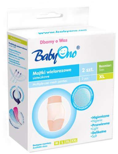 BabyOno többször használható hálós nadrág XL
