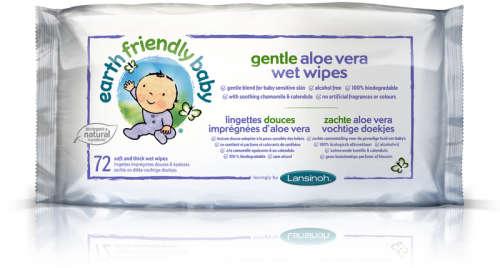Lansinoh EFB nedves törlőkendő aloe vera-val (72db)