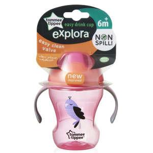 Tommee Tippee easy drink cup Itatópohár 230ml 6hó #rózsaszín 30256345
