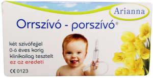 Arianna műanyag Orrszívó-Porszívó 30205515 Orrszívó, orr spray