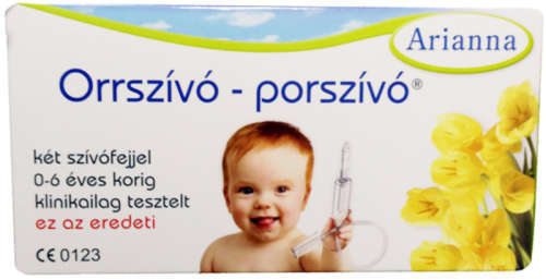 Arianna műanyag Orrszívó-Porszívó