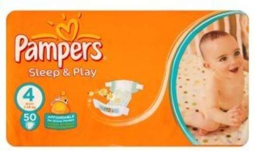 Pampers Sleep & Play 4 Maxi 50db-os