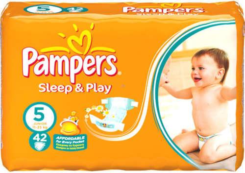 Pampers Sleep & Play Pelenka 5 Junior 11-25kg (42db)