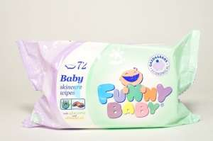 Funny Baby Törlőkendő  30205569 Törlőkendő