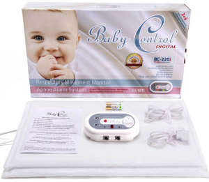 Baby Controll BC-220 ikresLégzésfigyelő 30205651 Baby Control Bébiőr, Légzésfigyelő