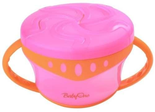 BabyOno snacktartó tálka 1048 --pink