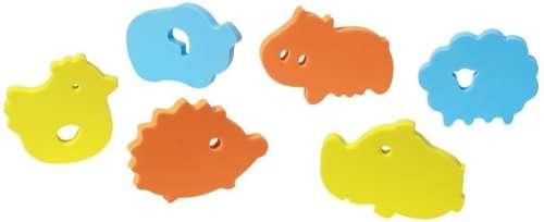 BabyOno fürdőjáték puzzle szivacs 6 db 534 --állatkert