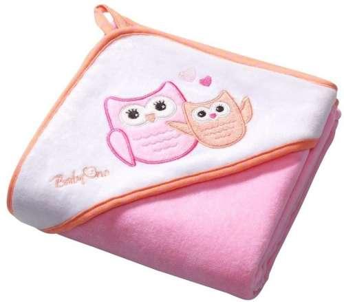 BabyOno fürdőlepedő (76x76cm) (rózsaszín)