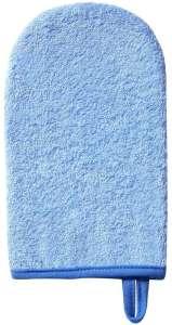 BabyOno Fürdetőkesztyű #kék 30205813 Mosdószivacs, kendő, kesztyű
