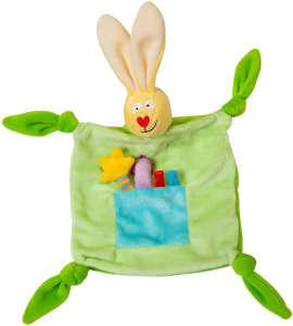 Taf Toys Szundikendő #nyuszi Blankie #zöld