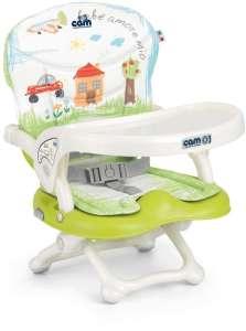 CAM Smarty Pop Etetőszék - Házikós-autós #zöld 30205927