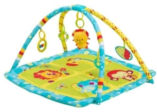 BabyOno játszószőnyeg állatkert (80x80cm)