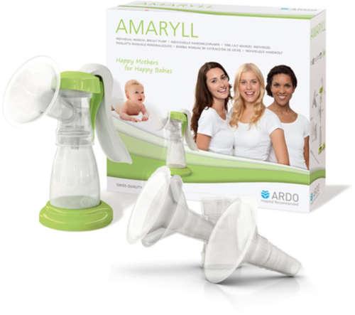 Ardo mellszívó kézi bővíthető Amaryl kiegészítőkkel