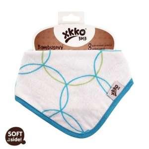Xkko Bambusz patentos Nyálkendő - Kör #kék 30206080 Nyálkendő