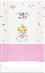 Ceba puha Pelenkázó lap 50x70cm - LittleAngel #rózsaszín 30206187 Pelenkázó lap