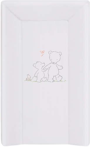 Ceba pelenkázó lap merev 3 oldalú (50x80cm) - Papa Bear (szürke)