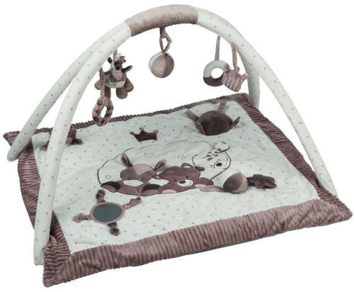 Nattou plüss játszószőnyeg Max, Noa & Tom