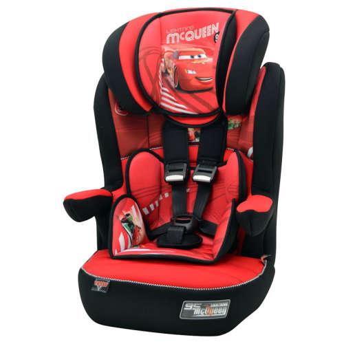 Nania Disney I-max autósülés (9-36kg) Verdák (piros-fekete)