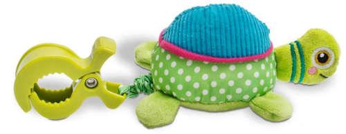 Oops Csipeszes vibráló babajáték - Cookie - teknős