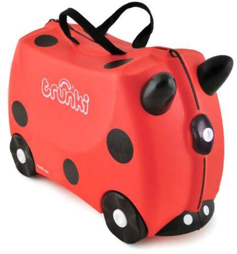 Trunki gyermek bőrönd - Harley, a katicabogár
