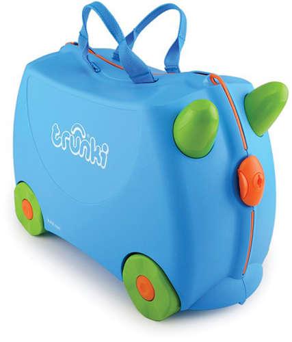 Trunki gyermek bőrönd - Terrance