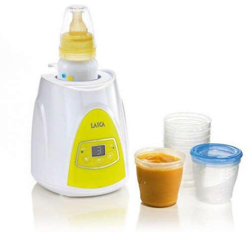 Laica Baby elektromos Cumisüveg- és bébiétel Melegítő #sárga