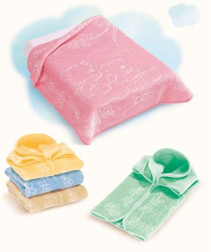Belpla Baby Sac babazsákká alakítható Takaró #80x90cm #bézs