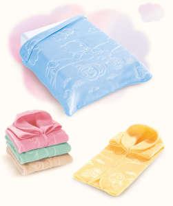 Belpla Baby Sac babazsákká alakítható Takaró 80x90cm #pink
